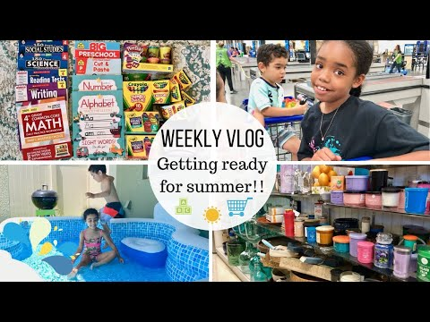 WEEKLY VLOG // PREPARING FOR SUMMER // REAL LIFE MOM LIFE // Jessica Tull