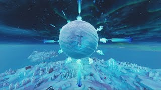 THE FORTNITE ICE STORM EVENT!  (FORTNITE BATTLE ROYALE)