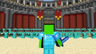 Best Minecraft Player vs 100 Players!