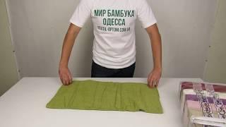 Банное полотенце оптом, лучшая цена, 70 х 140 см., 6 шт / уп. 880018 от компании Текстиль оптом, в розницу от 1 грн. МИР БАМБУКА, Одесса, 7 км. - видео