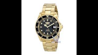 Видео обзор механических часов Invicta Automatic Pro Diver 200M 8929OB золото