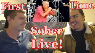 College Student's FIRST TIME Seeing | Sober Live | Tool Reaction | Music Share Monday!