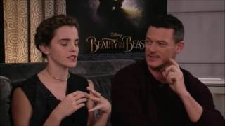 Beauty and the Beast cast live chat on Facebook