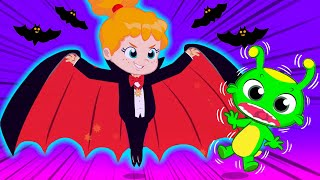 Groovy The Martian Educational Videos For Kids | Lets Dress Up At Halloween Night!