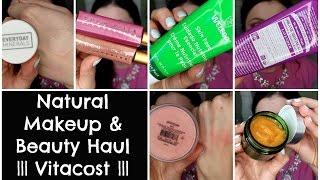 Natural Makeup, Beauty, Skincare Haul | Vitacost Favorites