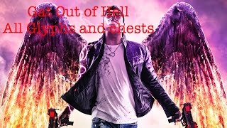 Saints row Gat Out of Hell - All 15 Glyph and chest locations