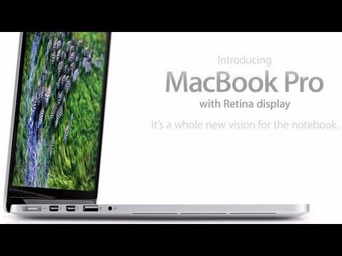 New Mac Book Pro w retina display - kills off the 17 inch!