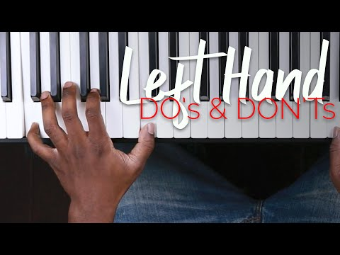 3 Ways to Drastically Improve Left Hand on Piano