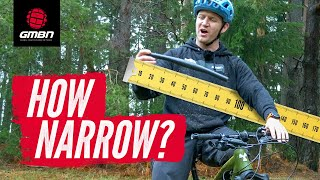 The Narrowest Bars In MTB? | Blake's Narrow Handlebar Challenge