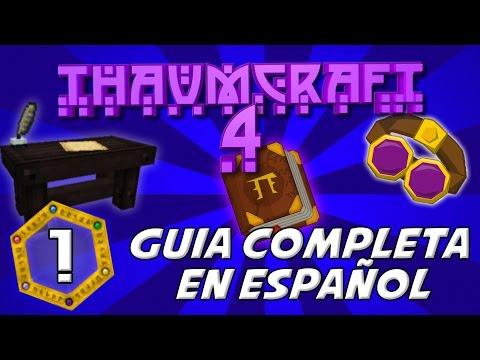 THAUMCRAFT 4.2 MOD MINECRAFT 1.7.10 | Mod de Magia - Investigaciones, Thaumonomicon [Ep1]