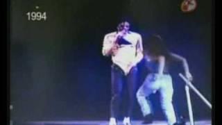 Encuentro De Thalía Y Michael Jackson En 1994.