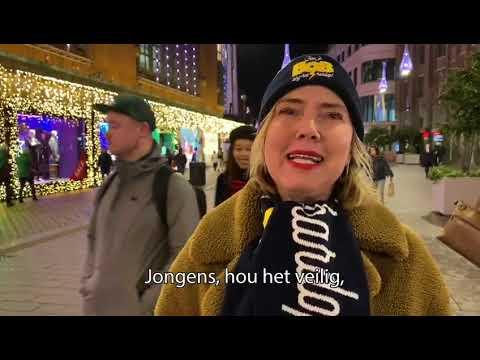 Minister Cora van Nieuwenhuizen bij: 'Ben je BOB, zing het hardop'.