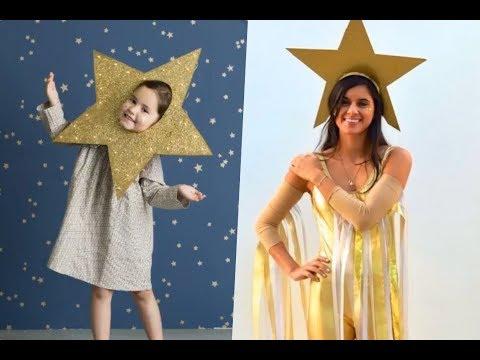 Disfraces de estrella para niños y adultos