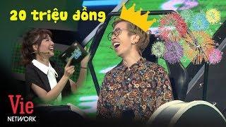 Hari Won vỡ òa khi VirusS giật gọn 20 triệu đồng của Nhanh Như Chớp Mùa 2 l VieTalents Official