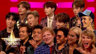 The Best Of The MTV Music Award Nominees!   The Graham Norton Show LIVESTREAM