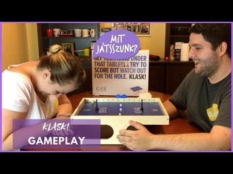 Klask! Játékparty (Gameplay) - Mit Játsszunk?