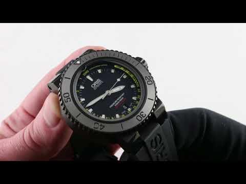 Oris Aquis Depth Gauge 01 (73376754754-SETRS) Luxury Watch Review