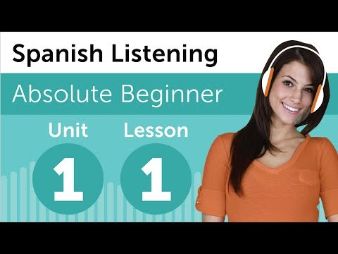 Spanish Listening Exercises 3