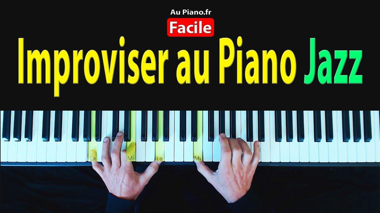 Les accords facile pour jouer du piano Jazz Bar (Tutoriel Piano)