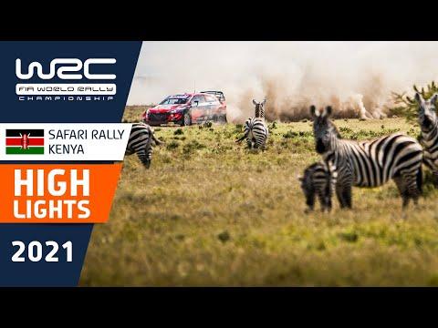 WRC 2021 WRC第6戦ラリー・ケニア SS8-10のハイライト動画