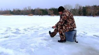 Зимняя рыбалка в харьковской области