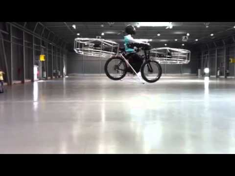 Witness the First Flying Bike!