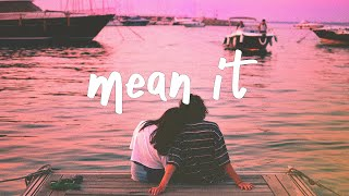 Lauv & LANY   Mean It (stripped) Lyric Video