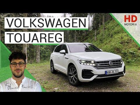 Volkswagen TOUAREG: prova in anteprima del SUV con schermo da 15 pollici