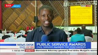 The civil service to award top performers in the Public Service Awards ceremony