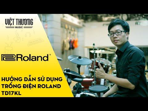 Hướng dẫn sử dụng bộ trống điện Roland TD17KL