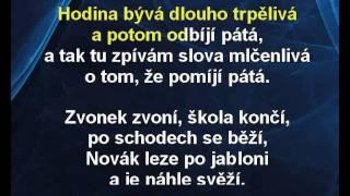 Zuzana Norisová - Pátá (karaoke z www.karaoke-zabava.cz)