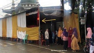 Viral Resepsi Pernikahan di Perempatan Lampu Merah Banyumas
