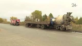 Смертельное ДТП в Казани: водитель, зажатый в кабине «КамАЗа», был жив несколько минут