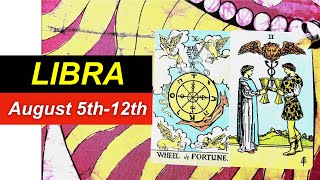 LIBRA SOMEONE NEEDS YOU AUGUST 5th-12th - Love Tarot Reading