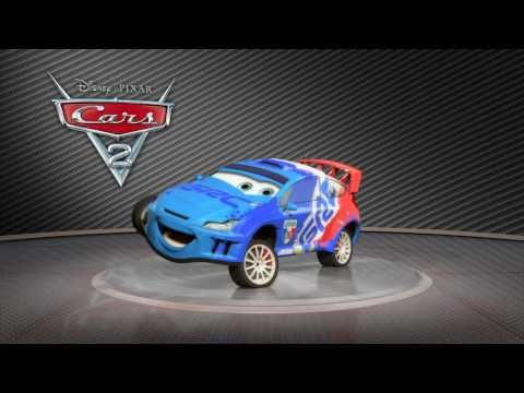 "Cars 2 ""Raoul CaRoule Showroom Turntable"" Official (HD)"