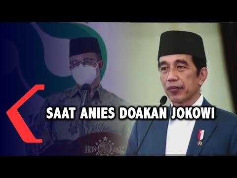 Di Harlah NU, Anies Doakan Jokowi Diberi Kemudahan