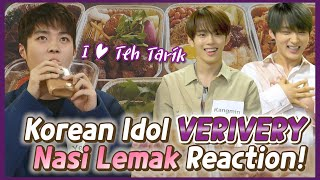 Korean Idol tried Laksa for the first time?! [VERIVERY X BLIMEY]