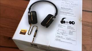 Onkyo H900M High Res Kopfhörer Headphones unboxing / review / deutsch