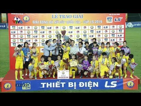 Đả bại Hà Nội, Phong Phú Hà Nam lần đầu vô địch cúp QG nữ LS 2019
