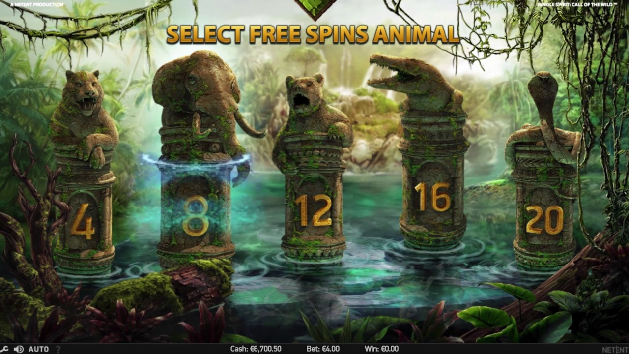 Jungle Spirit: Call of the Wild från NetEnt