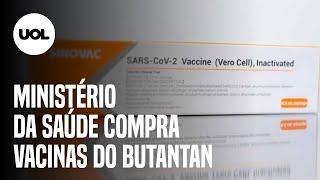Ministério da Saúde anuncia compra de 46 milhões de doses da CoronaVac