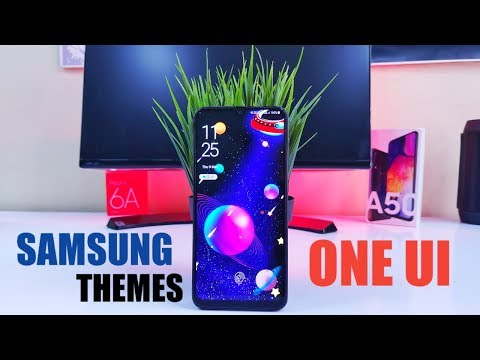 Download Best Samsung Themes For Your Samsung Galaxy A50 One Ui