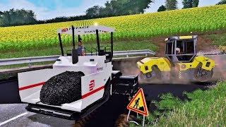 Farming Simulator 2017 REPAIRING ROAD