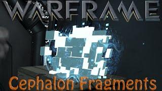 Warframe - Cephalon Fragments