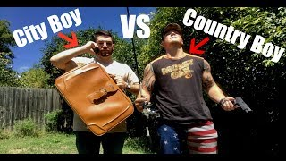 (Part 1) The Daily Activities of a Country Boy vs a City Boy