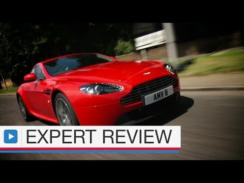 Aston Martin V8 Vantage coupe expert car review