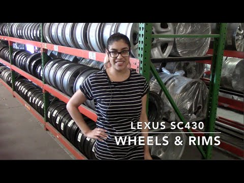Factory Original Lexus SC430 Wheels & Lexus SC430 Rims – OriginalWheels.com