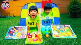 หนูยิ้มหนูแย้ม | สามัคคีโยนบอลแลกของเล่น Kids Activity