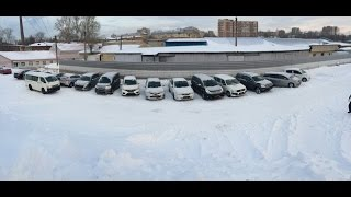 Выгрузка 10-ти автомобилей Токидоки 10 января 2017 г