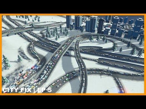 Fixing a 20% Traffic Flow City (Sigh) | CITY FIX | Cities Skylines